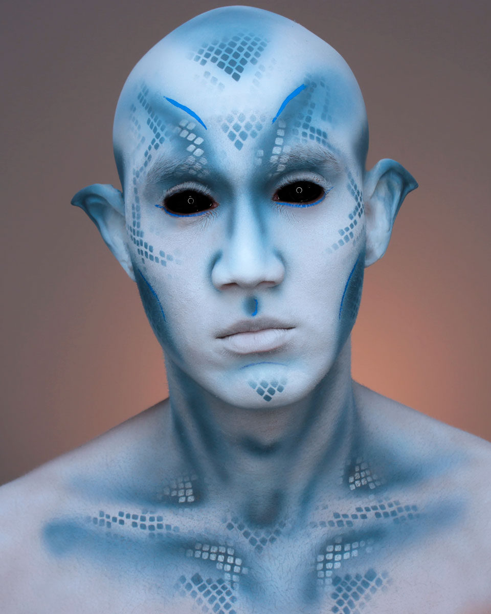 Special Effects - Body Painting & Prostheticts   AKristina
